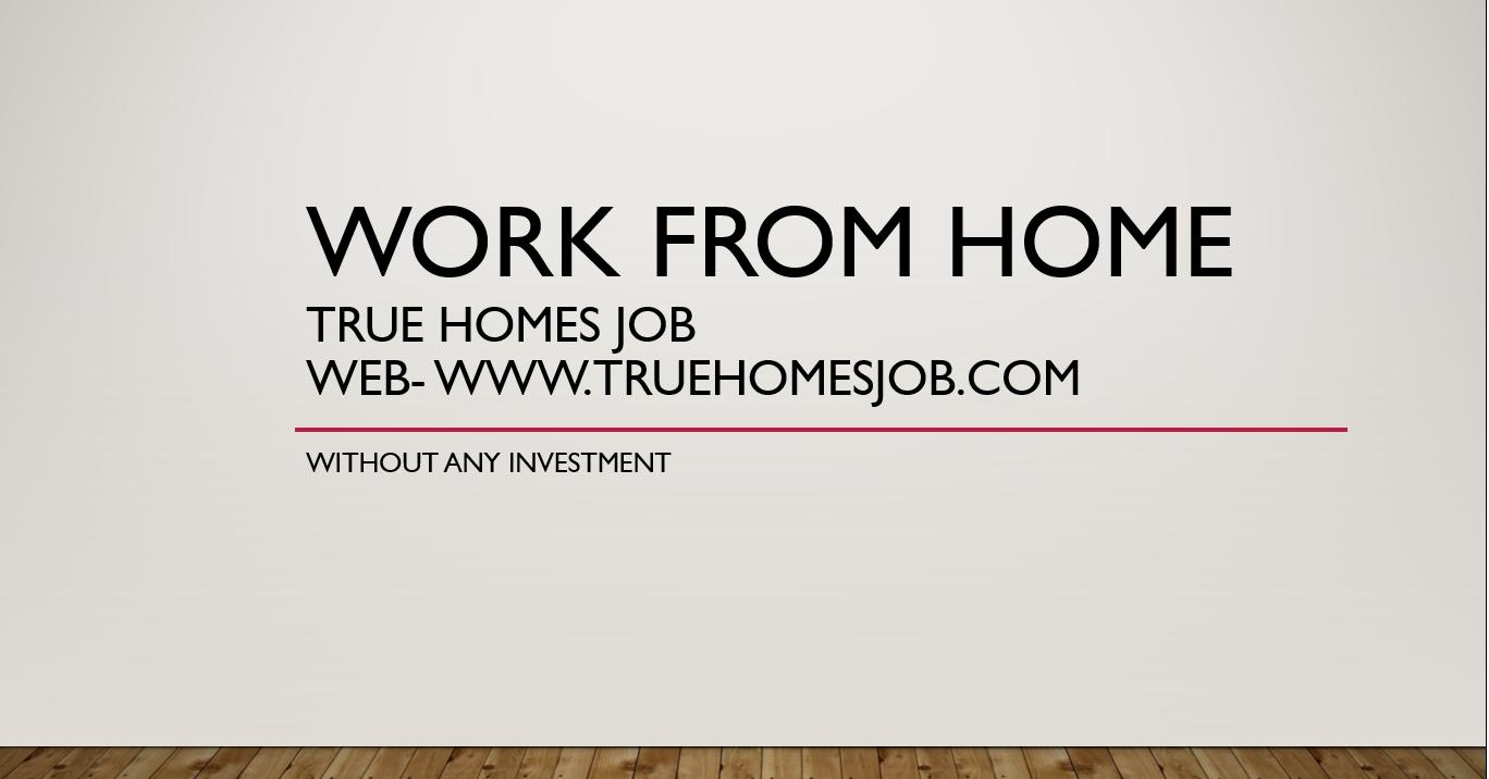 true home jobs